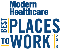 2016 Modern Healthcare Best Places to Work