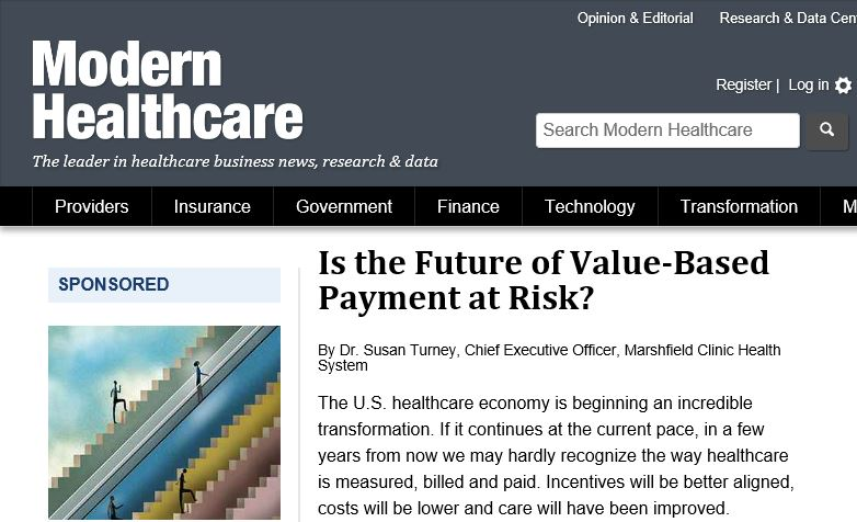 Modern Healthcare article